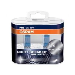 Lampe phare halogène H8