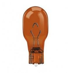 Lampe avec culot de verre orange WY16W