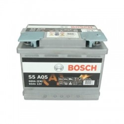 Batterie Bosch start-stop, 60 Ah, 680 A, 12 V