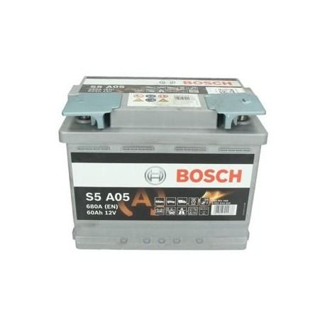 Bosch start-stop, 60 Ah, 680 A, 12 V