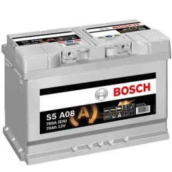 Batterie Bosch start-stop, 70 Ah, 760 A, 12 V