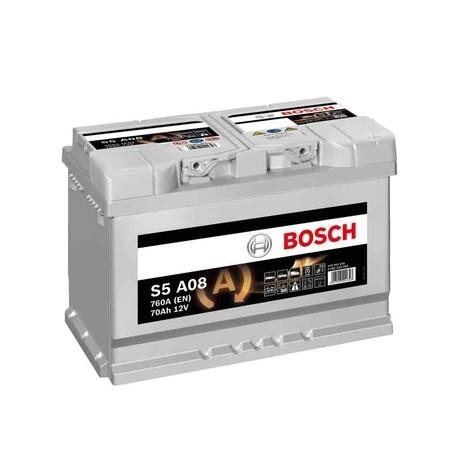 Bosch start-stop, 70 Ah, 760 A, 12 V