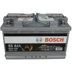 Batterie Bosch start-stop, 80 Ah, 800 A, 12 V