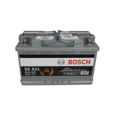 Bosch start-stop, 80 Ah, 800 A, 12 V