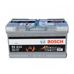 Batterie Bosch start-stop 95 Ah, 850 A, 12 V
