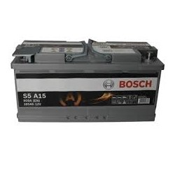 Batterie Bosch start-stop 105 Ah, 950 A, 12 V