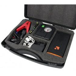Set MultiPower 16 Mini Startbooster 12V, 13600 mAh incl. compresseur et valise