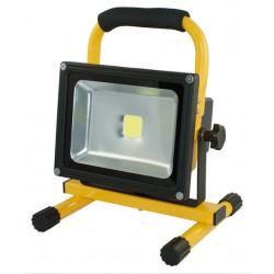 Projecteur LED d'atelier 20W avec ACCU