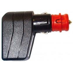 Fiche angulaire avec LED et fusible 7.5A