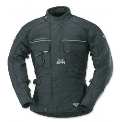 Veste pour moto Büse Ancona noire taille L