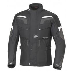 Veste pour moto Büse Lago Pro noire/blanc taille XL