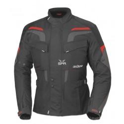 Veste pour moto Büse Lago Pro noire/rouge taille L