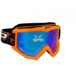 Lunettes cross Pro Grip orange étamée