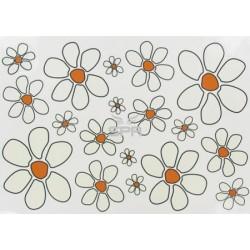 Autocoll. petites fleurs 25x35cm