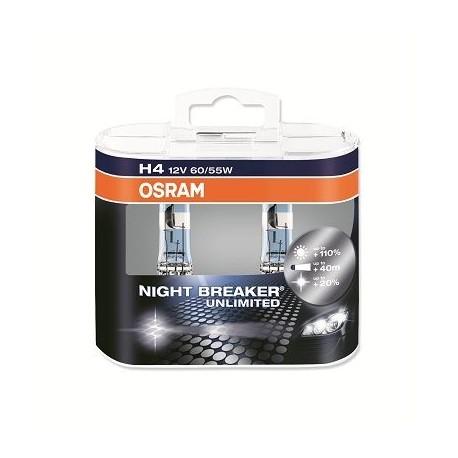 Lampe phare halogène H4