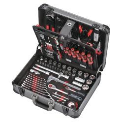 JET-TOOLS Boîte à outils en alu 132 pces