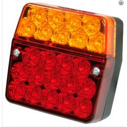 Feu LED arrière 24V avec feu de plaque