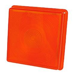 Rubbolite - Verre de rech. clignotant orange
