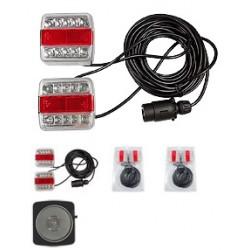 Set de feu LED arrière avec aimants 12/24V