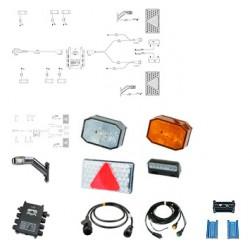 ASPÖCK - kit complet feux LED pour remorques
