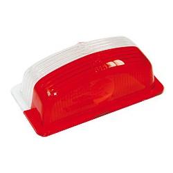 ML - verre rouge/blanc pour feu de position 498/BM, 499/BM, 800/BM