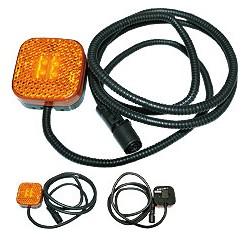 Feu de position LED 24V orange MAN