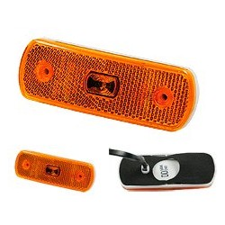 SIM - Feu LED orange 12/24V