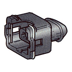 Connecteur 2 pôles AMP JT