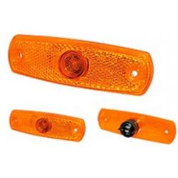 Hella - Feu latéral 24V orange