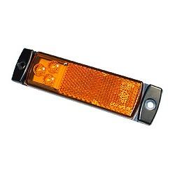 Feu latéral LED 12/24V jaune