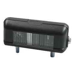 Éclairage de plaque noir plastique GS