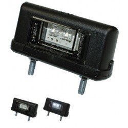 WAS - Éclairage de plaque LED 12/24V