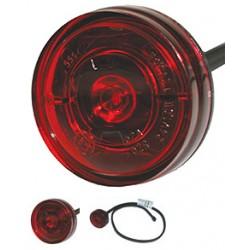 Aspöck - Monopoint II LED 12/24V rouge