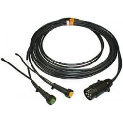 Aspöck Câble 5m avec fiche 7 pôles