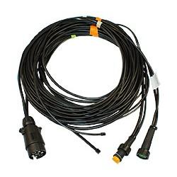 Aspöck Câble 7m avec fiche 7 pôles ISO 1724