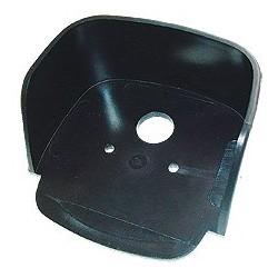 Carter de protection matière synt.noire
