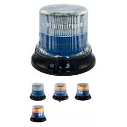 Feux à éclats LED jaune/bleu, 12/24V