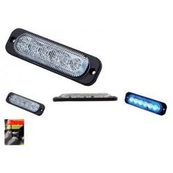 LED Feux à éclats stroboscopique 18W, bleu
