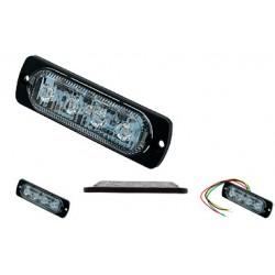 LED Feux à éclats stroboscopique 12W, rouge