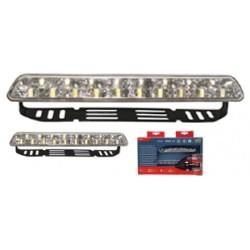 Kit feux diurne avec 18 LED 12/24V