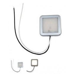 WAS - Plafonnier LED 12V verre satiné