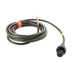 Câble 5000mm avec fiche 5 pôl. jaune (gauche)