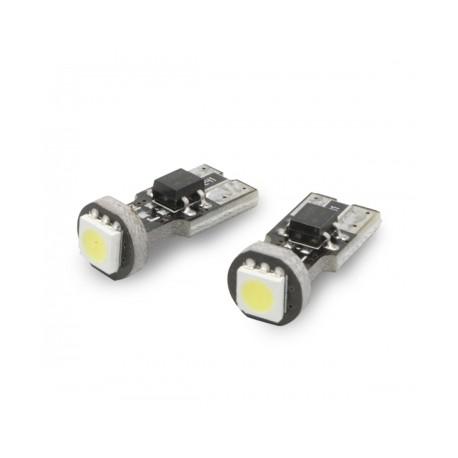 W5W T10 canbus avec 1 LED 6000K