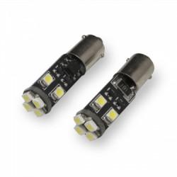 H6W BAX9s canbus avec 8 LED 6000K