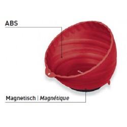 Coupelle magnétique en plastique