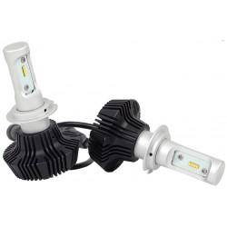 2 pcs LED-H4 ampoules 12/24V 4000lm 7G