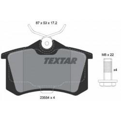 Kit de 4 Plaquettes de Frein TEXTAR (2355402)