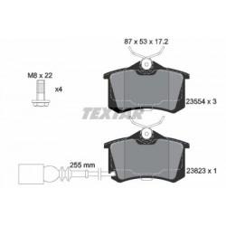 Kit de 4 Plaquettes de Frein TEXTAR (2382301)