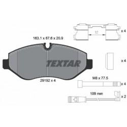 Kit de 4 Plaquettes de Frein TEXTAR (2919202)