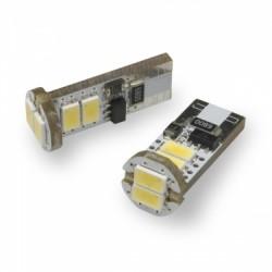 W5W T10 canbus avec 6 LED 5000K